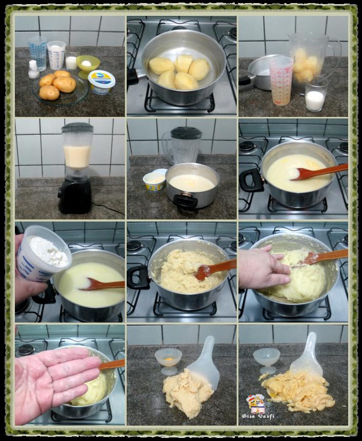 Nhoque de batata colorido 3