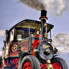 by Jade Newman - Transportation Other ( steam engine, old, hdr, vintage )