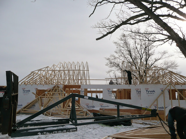 Building of new home in Waukesha, WI - P1030408.JPG