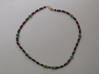 14K Gold and Stone Necklace