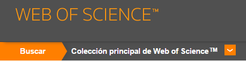 Coleccion principal de Web of Science