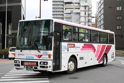 西日本鉄道「ひのくに号」 9714