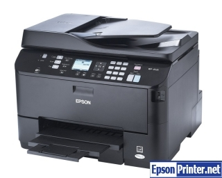 How to Reset Epson WorkForce WP-4535 printing device – Reset flashing lights problem