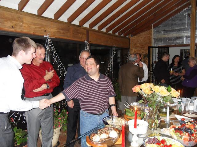 01.07.2012 Kolędowanie u pp. Janusza i Wandy Komor.  Zdjęcia Bogdan Kołodyński 01.07.2012 Kolędowan - SDC13604.JPG