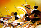 Synphonie en jaune 50 x 60 Octobre 2007