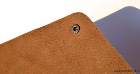 Папка ручной работы, шорно-седельная кожа. А4 kontiki+