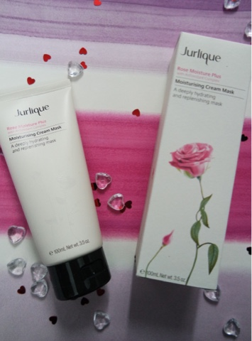 Jurlique rose moisturising cream mask