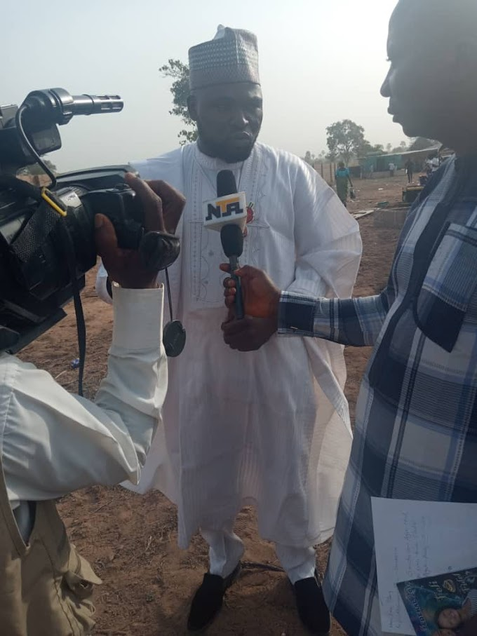 House of Assembly hopeful Comr Emaluji purchase 100 bags of Ogoja Rice on commissioning day