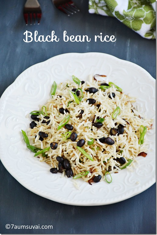 Black bean rice pic 1