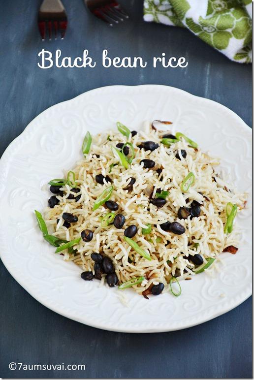 Black bean rice pic 1