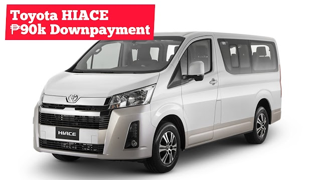 2020 Toyota HIACE VAN Low Downpayment Installment Promos | Toyota Batangas City