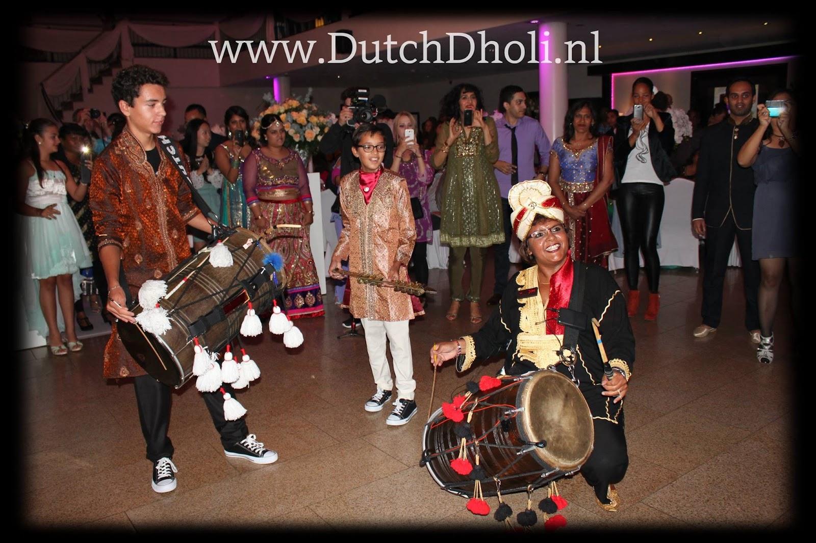 Voor Live Dhol Entertainment op maat!