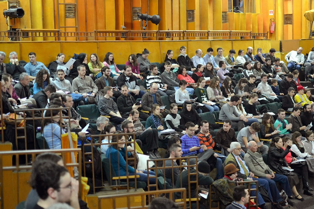 034 Avva Justin Parvu si Sfintii inchisorilor (Teatrul Luceafarul, Iasi, 2014.03.19)