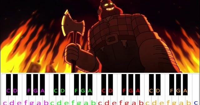 Roblox Piano Gravity Falls Easy