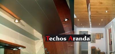 Precio economico techos baños Madrid