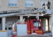Exercice grandeéchelle Pompiers Saint Nazaire