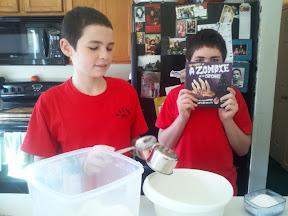 Time to make cupcakes