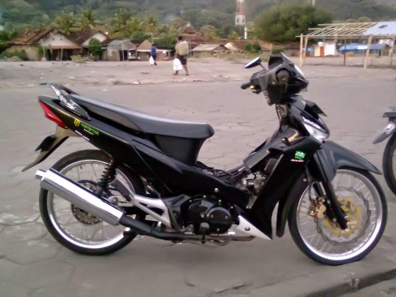 Honda Supra X Modifikasi Ceper