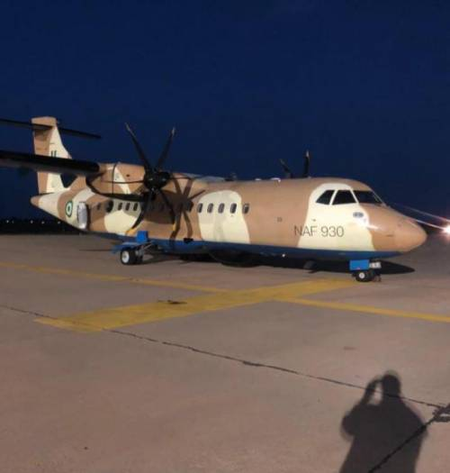 'Air Force Jet Going To Owerri Crash-Lands In Akure, Covered Up' - Sahara Reporters