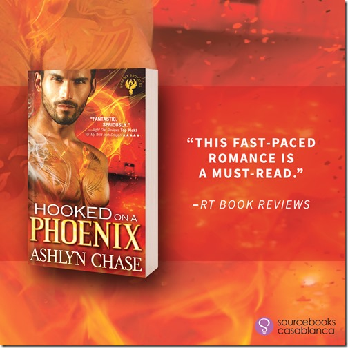 New Release: Hooked on a Phoenix (Phoenix Brothers #1) by Ashlyn Chase + Excerpt | About That Story
