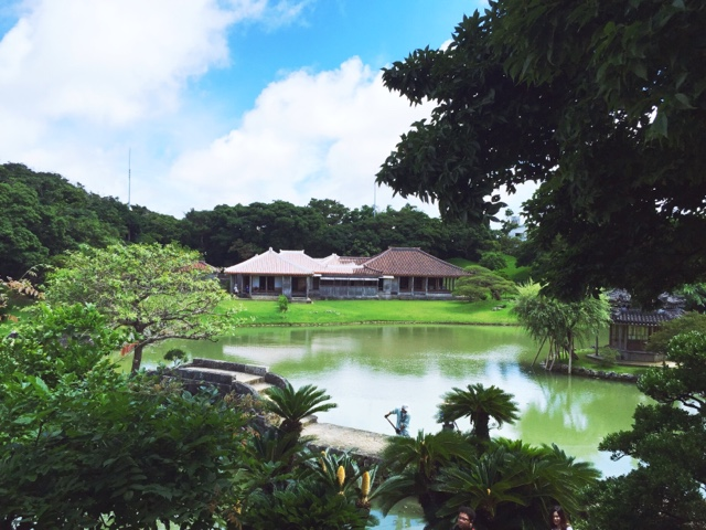 Shikina-en Royal Gardens in Naha are a world heritage site, and a lovely place to explore in Okinawa.