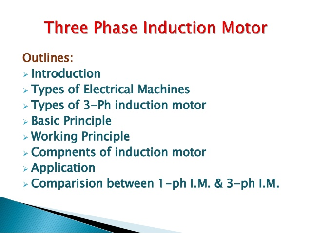All About Three Phase Induction Motor