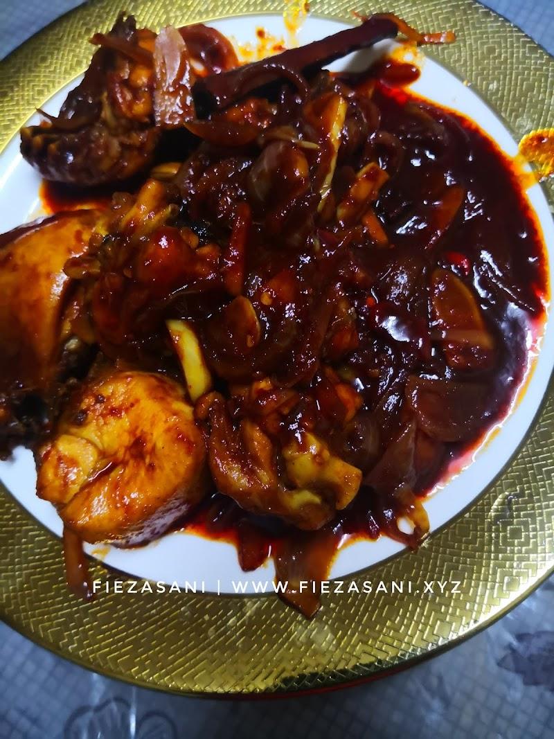 Dapur FiezaSani - Resipi Ayam Masak Kicap Pedas