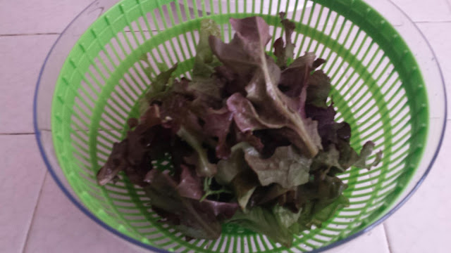 Salad Spinner via #ozeri