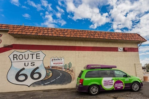 Route 66 Sign Barstow