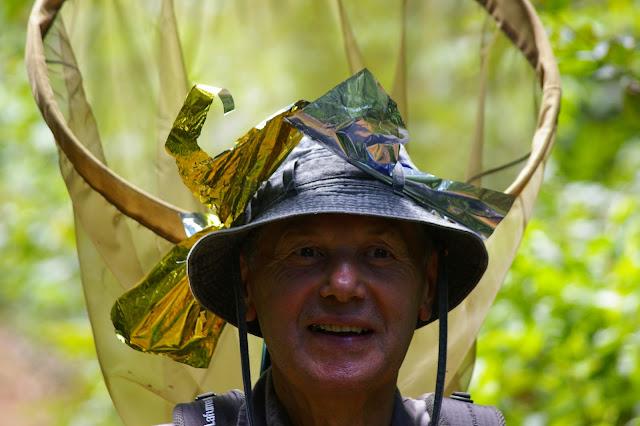 Jean-Guiral. Près de Camp Patawa (second layon), Montagne de Kaw (Guyane). 16 novembre 2011. Photo : J.-M. Gayman