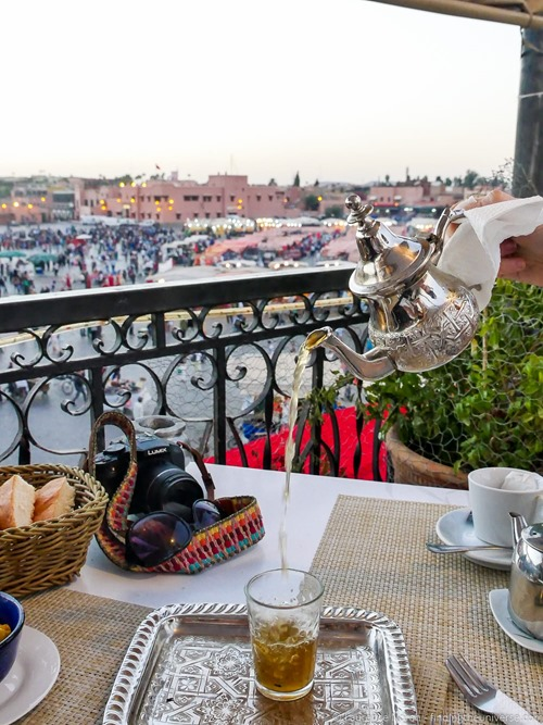Moroccan tea 4kphoto