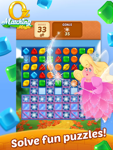 Matching Magic: Oz - Match 3 Jewel Puzzle Games screenshot 18