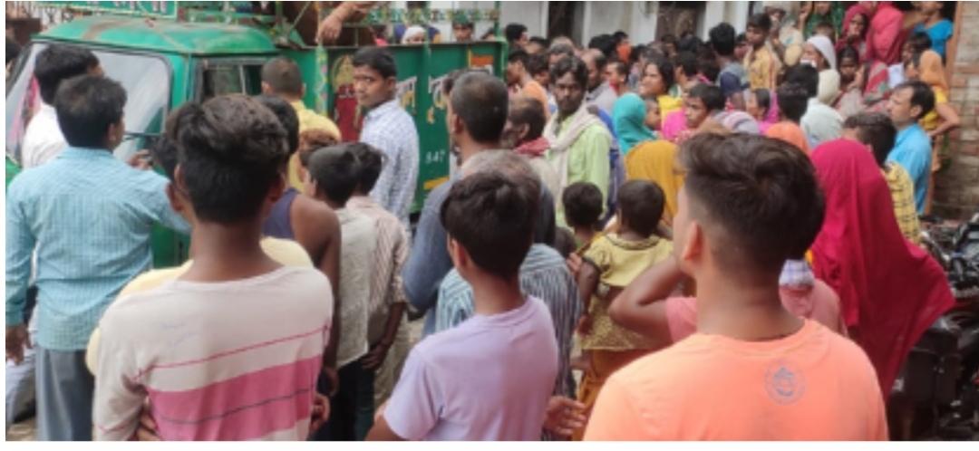 बिहार में एक घर की दीवार गिरने से दो बच्चों की दबकर मौत, घर मे पसरा मातम
