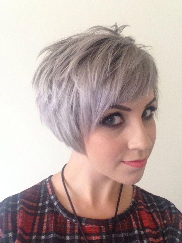 Grey Pixie Hair Cut & Gray Hair Colors for Short Hair 2018 ...