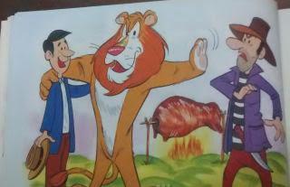 El león generoso