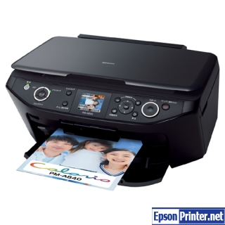 How to reset Epson PM-A940 printer
