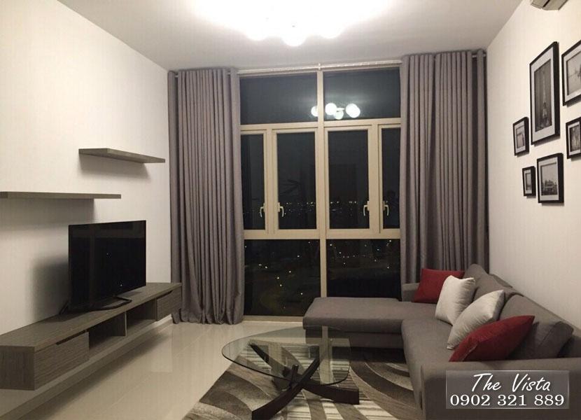 Cho thuê căn hộ 103m2 tại The Vista An Phú nội thất mới hoàn toàn