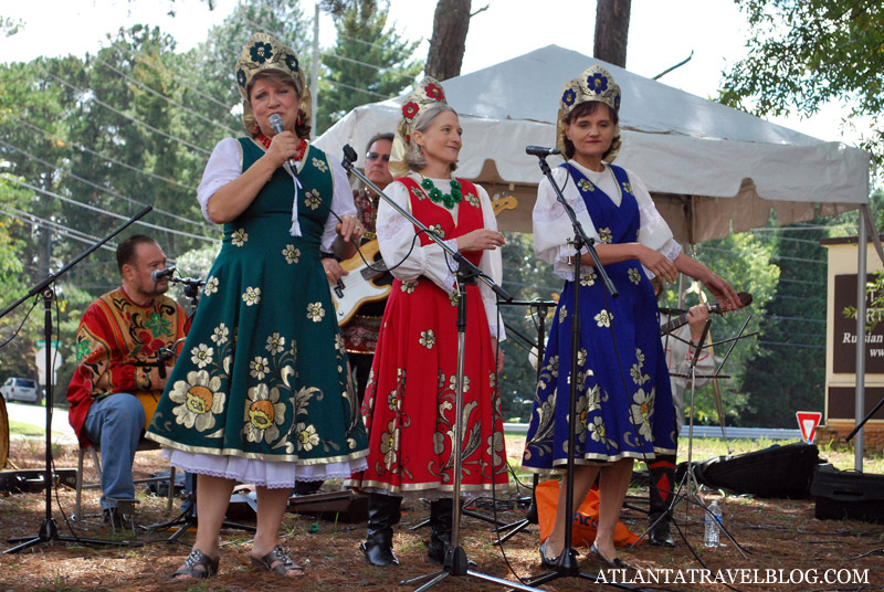 Russian festival in Atlanta