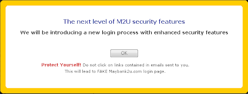Beware of fake M2U! Check this out!
