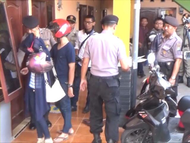 Razia Rumah Kost, Petugas Jaring Mahasiswa dan Pasangan Kumpul Kebo
