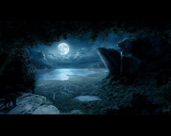 Mysterious Territory Of Dream, Magical Landscapes 6