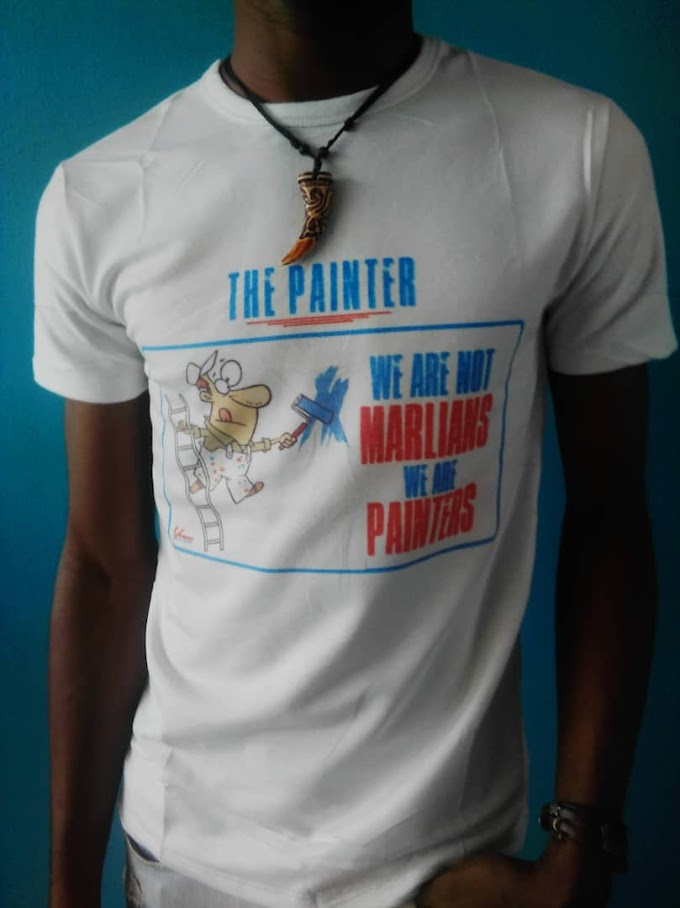 """Uite Launched a Clothes tagged; """"We are not Marlians, We are Painters"""""""