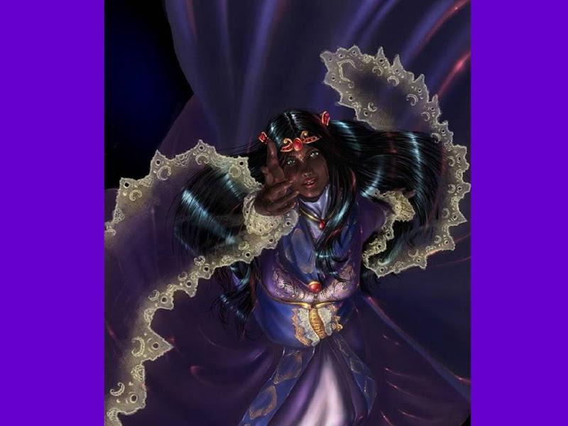 Magian Sorceress, Night Magic
