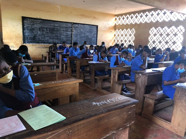 GCE Examinations ongoing in serenity