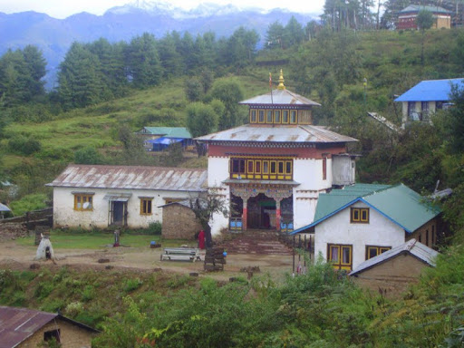 Thubten Shedrup Ling, Solu Khumbu, Nepal. Photo courtesy of Kopan Monastery.