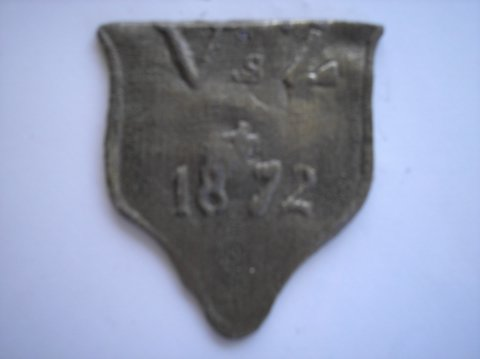 Naam: Vierpoten & ZnPlaats: HaarlemJaartal: 1872Boek: Steijn blz 40Vindplaats: St. Bavokerk