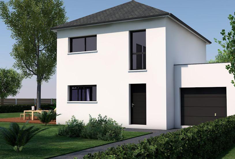 Vente Terrain + Maison - Terrain : 450m² - Maison : 142m² à Nivillac (56130)