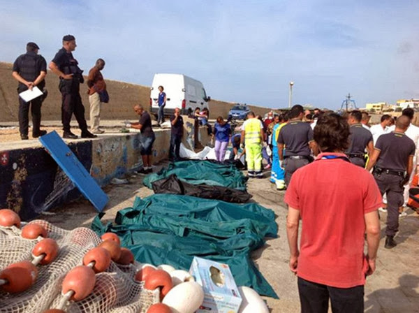 3 ottobre 2013 - ecatombe a Lampedusa