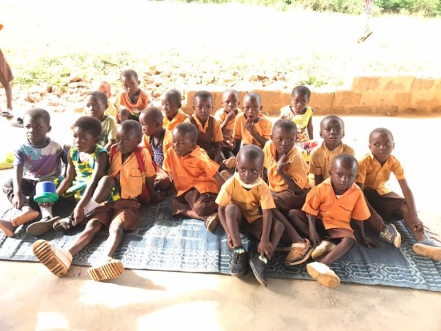 Pupils of Banko D/A Basic School Express Frustration At Leaders For Neglect