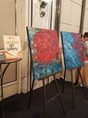 Goshen Art Gallery sells art on AladdinStreet. Wu Xueli's Rhapsody of Colours.
